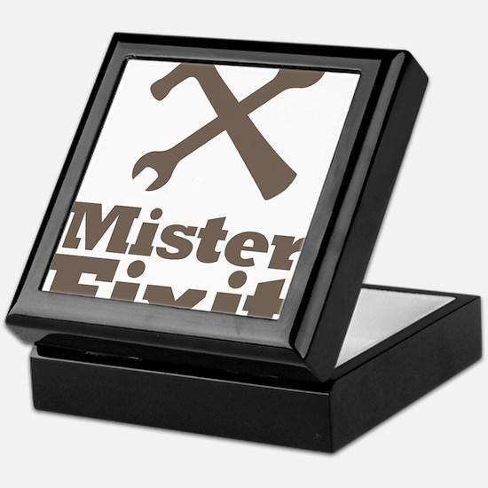 Mister Fix It Mr. Fixit Keepsake Box