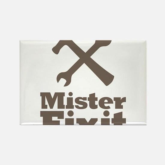 Mister Fix It Mr. Fixit Rectangle Magnet