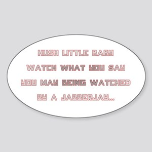 Hunger Games/Jabberjay Sticker (Oval)