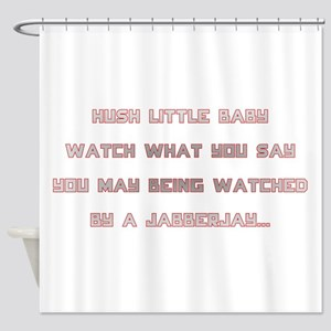 Hunger Games/Jabberjay Shower Curtain