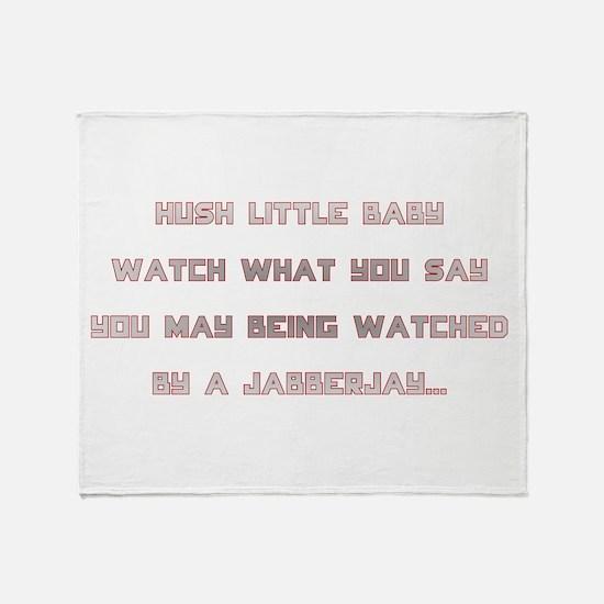 Hunger Games/Jabberjay Throw Blanket
