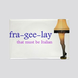 A Christmas Story - fra-gee-lay Rectangle Magnet