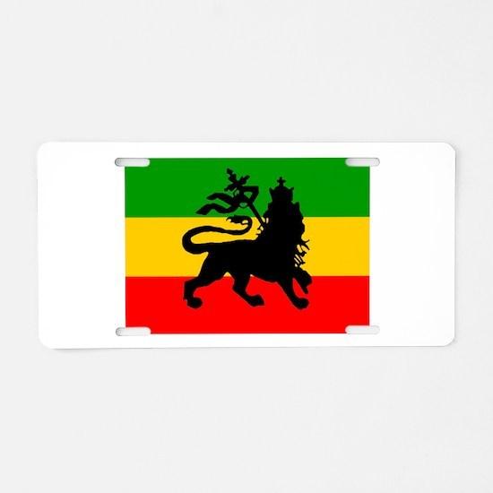 Lion of Judah Aluminum License Plate