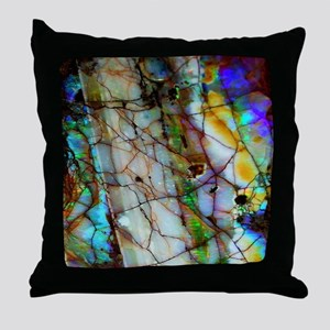 Opalesque Throw Pillow