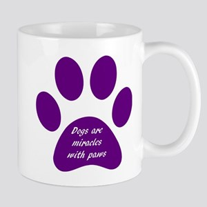 purple dogs are miracles Mug