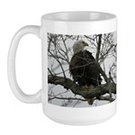 Bald Eagle II Large Mug