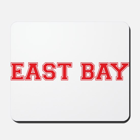 east bay2 red Mousepad