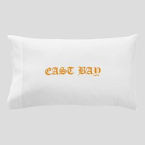 east bay 1 orange Pillow Case