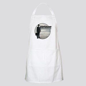 Project Archivist White T Apron