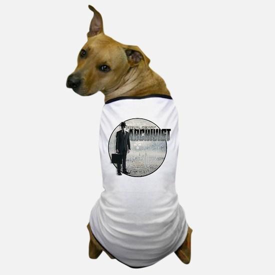 Project Archivist White T Dog T-Shirt