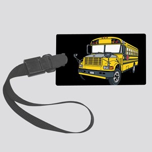 Bus Driver Large Luggage Tag