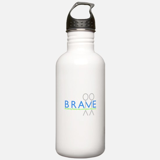 BRAVE Logo Water Bottle