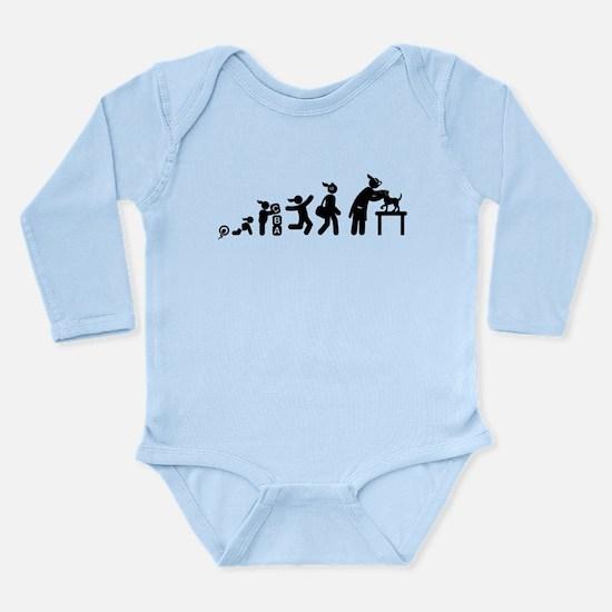 Veterinarian Long Sleeve Infant Bodysuit