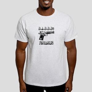 Channelingmyself D.A.D.D.Ds Firearms T-Shirt