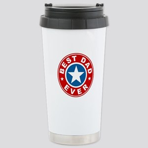 Best Dad Ever Stainless Steel Travel Mug