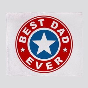 Best Dad Ever Throw Blanket