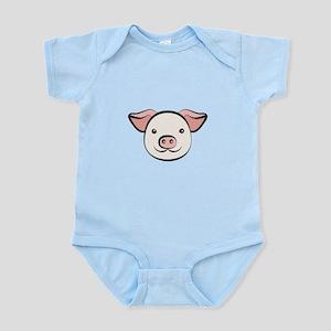 Cute Pig Infant Bodysuit