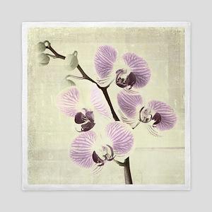 Light Orchids Queen Duvet