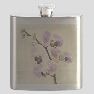Light Orchids Flask