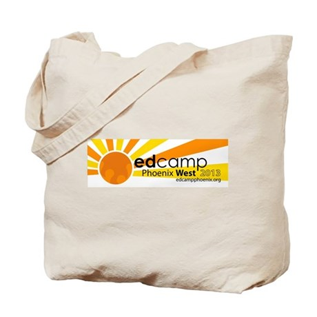 Edcamp Phoenix West 2013 Official Logo Tote Bag