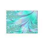 Aqua Lavender 5'x7'Area Rug