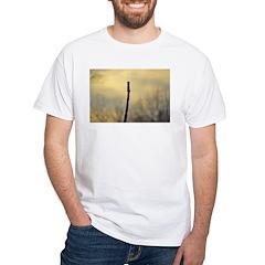Halls Creek Stick White T-Shirt