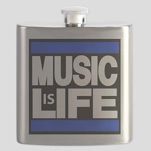 music life blue Flask