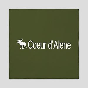 Coeur d'Alene Moose Queen Duvet