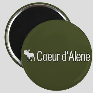 Coeur d'Alene Moose Magnet