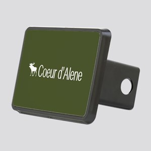 Coeur d'Alene Moose Rectangular Hitch Cover