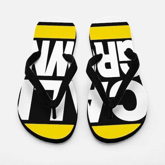 caligrown yellow Flip Flops