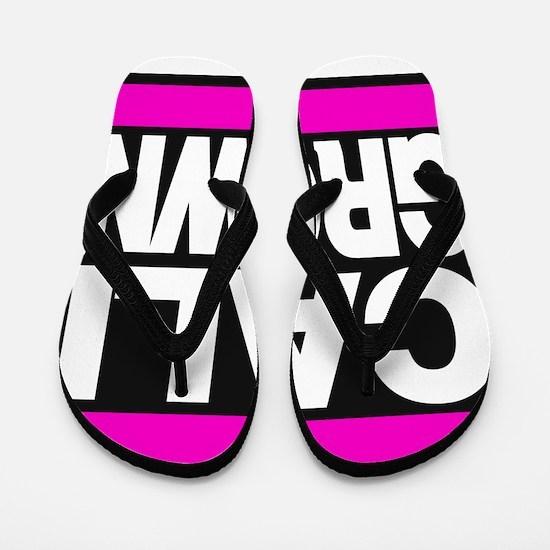 caligrown pink Flip Flops