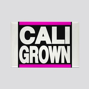 caligrown pink Rectangle Magnet