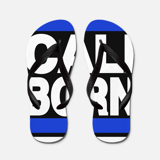 caliborn blue Flip Flops