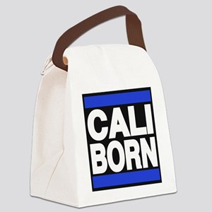 caliborn blue Canvas Lunch Bag