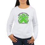 Destroy Non-Hodgkins Cancer Women's Long Sleeve T-