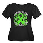Destroy Non-Hodgkins Cancer Women's Plus Size Scoo