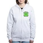 Destroy Non-Hodgkins Cancer Women's Zip Hoodie
