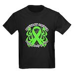 Destroy Non-Hodgkins Cancer Kids Dark T-Shirt