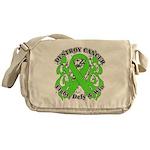 Destroy Non-Hodgkins Cancer Messenger Bag