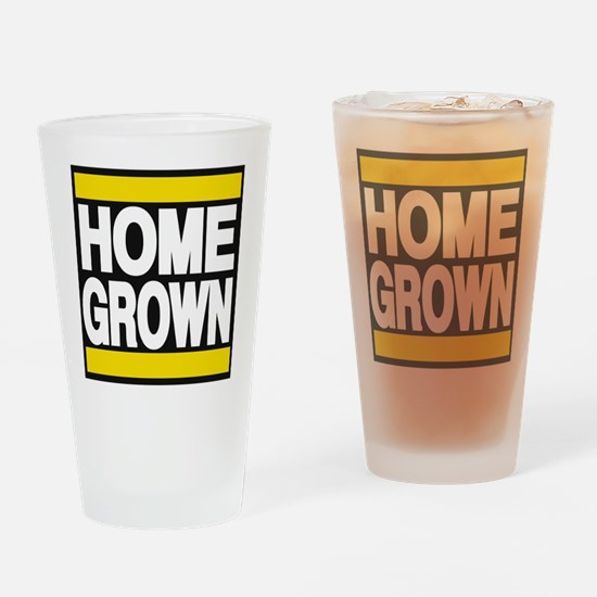 homegrown yellow Drinking Glass