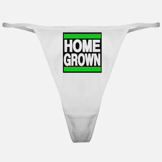homegrown green Classic Thong
