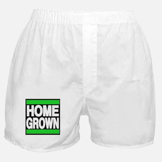 homegrown green Boxer Shorts