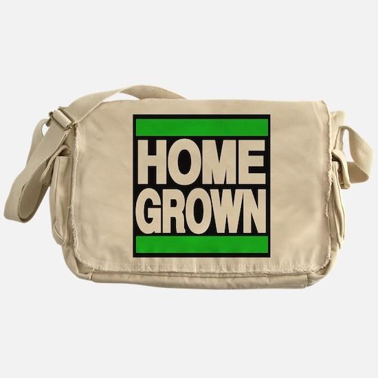 homegrown green Messenger Bag
