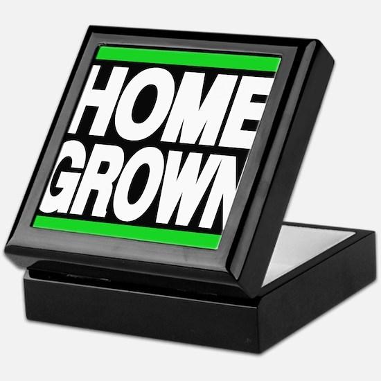homegrown green Keepsake Box