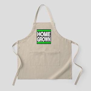 homegrown green Apron
