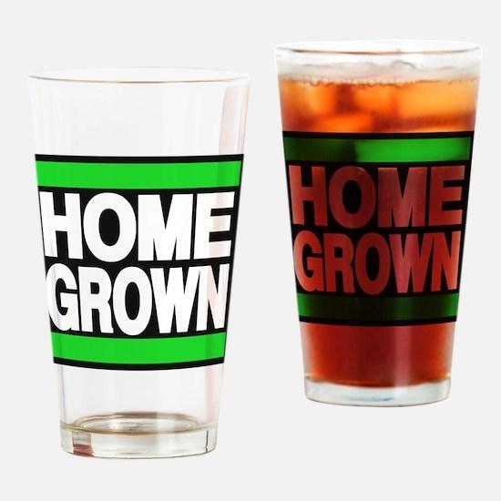 homegrown green Drinking Glass