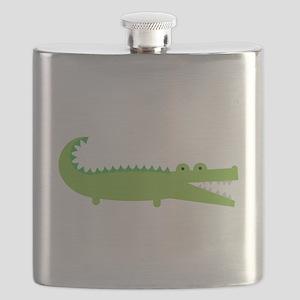 Alligator Flask