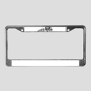 RV Fan License Plate Frame