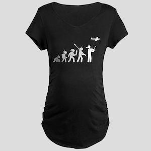 RC Plane Maternity Dark T-Shirt